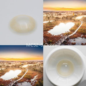 Super Natural Looking Colored Contact Lenses Health & Beauty Loom Rack MCS2-6 Ochre
