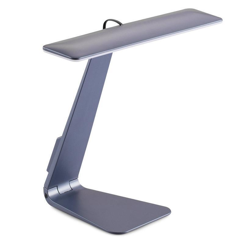 The iBrightness™ - Minimalistic Desk Lamp Lights Loom Rack Gray