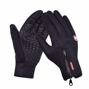 Thermala™ Premium Thermal Windproof Gloves (Unisex) Fitness Loom Rack Black M