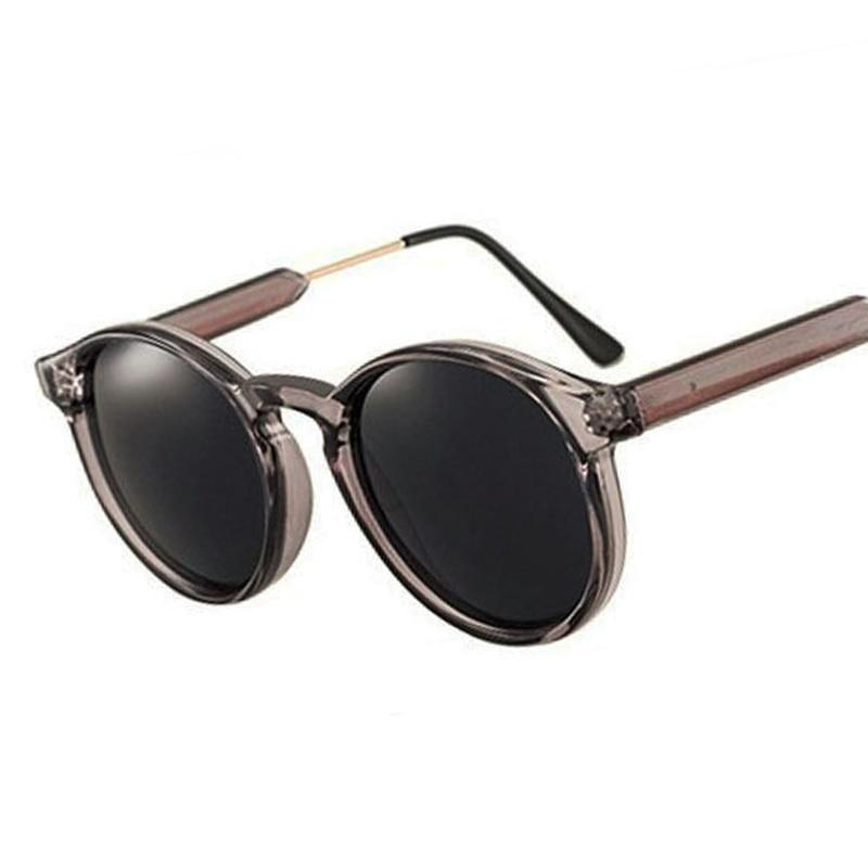 Thick Frame Round Vintage Shades Sunglasses Loom Rack
