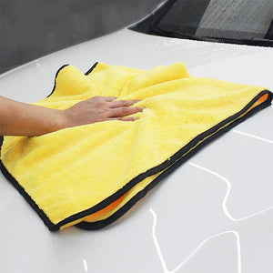 TowelPlus™ – Plus in Size, Plus the Absorbing Power Car Accessories Loom Rack