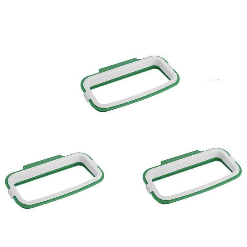 Trash Bag Holder Kitchen Accessories Green - 3pk Trash Bag Holder!!!