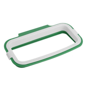 Trash Bag Holder Kitchen Accessories Loom Rack Green - 1pk Trash Bag Holder