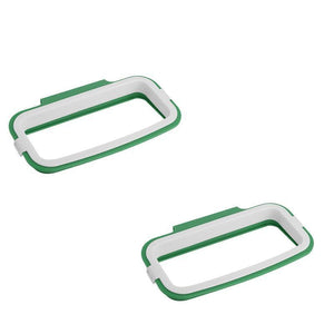 Trash Bag Holder Kitchen Accessories Loom Rack Green - 2pk Trash Bag Holder!!
