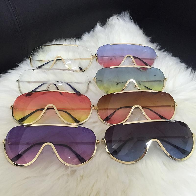 Trendy Shield Feminine Sunglasses Sunglasses Loom Rack