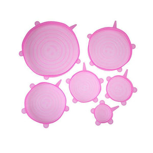 Ultimate Instalids - Set of 6 Lids Loom Rack Pink