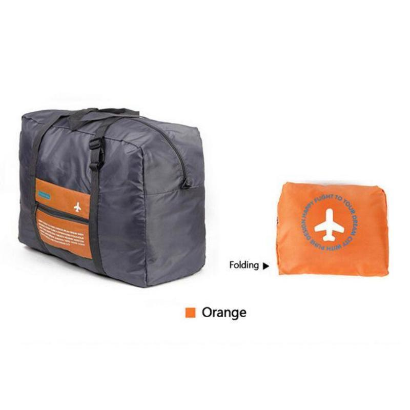 Ultimate Travel Bag Travel Organizers Loom Rack Orange