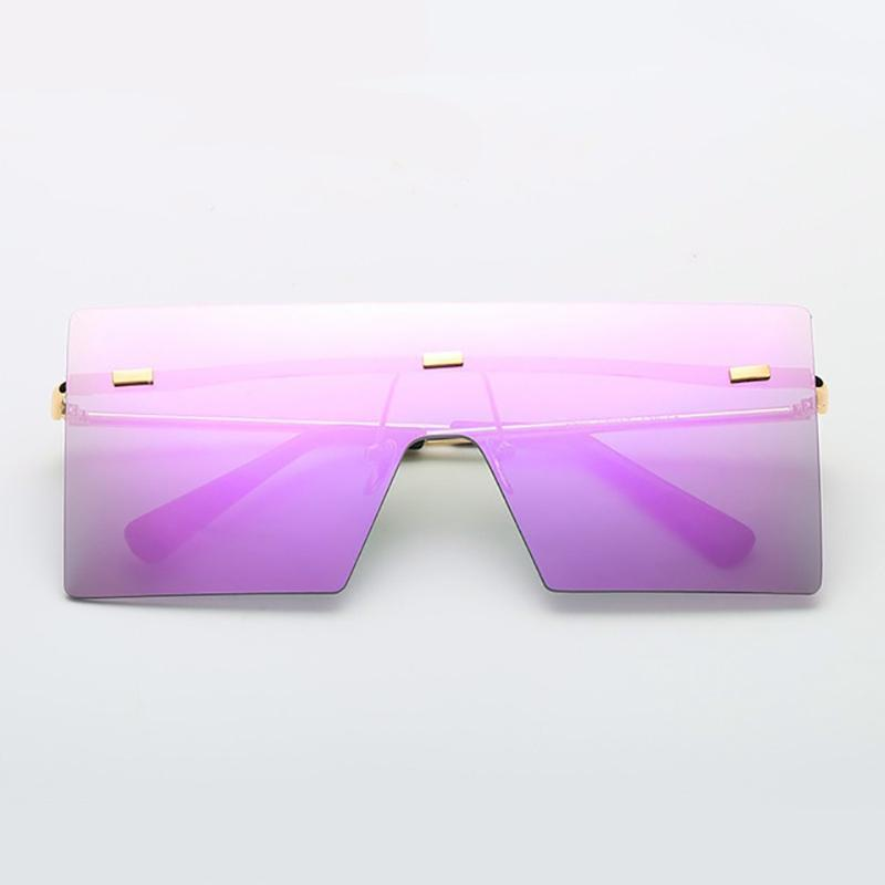 Ultra-edgy Square Flat Sunglasses Sunglasses 03