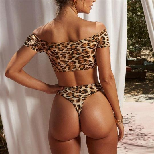 Ultra Sensual Leopard Print Bikini Swimsuits 2019 Loom Rack