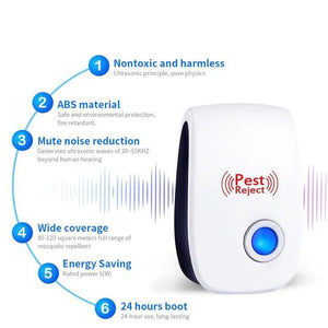 Ultrasonic Indoor Pest Repellent - StayAway Home US