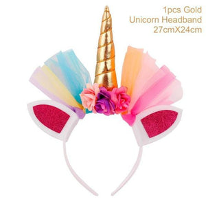 Unicorn Headband Hair Accessories Loom Rack