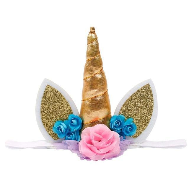 Unicorn Headband Hair Accessories Loom Rack Style 1