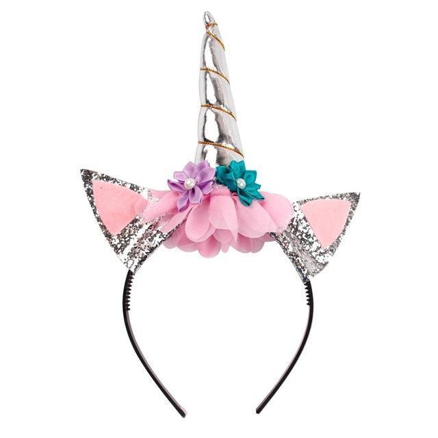 Unicorn Headband Hair Accessories Loom Rack Style 6