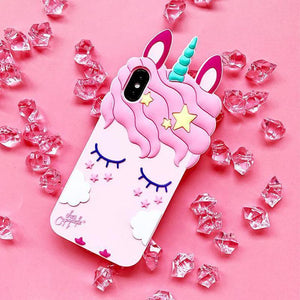 Unicorn iPhone Case - For iPhone X / SE / 5C / 5S / 6 / 6 Plus / 6S / 7 / 8 Plus Phone Cases Loom Rack