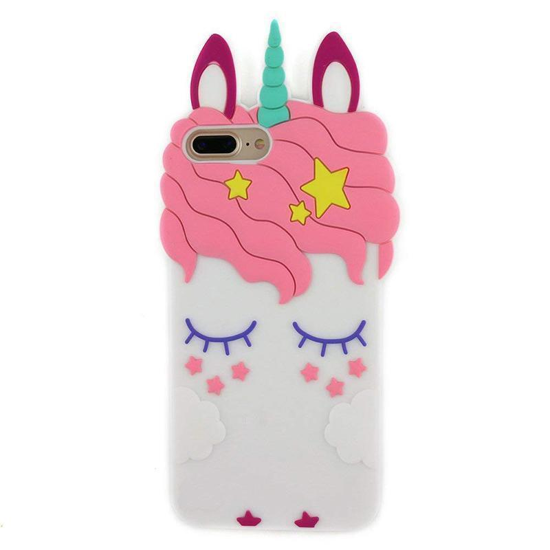 Unicorn iPhone Case - For iPhone X / SE / 5C / 5S / 6 / 6 Plus / 6S / 7 / 8 Plus Phone Cases Loom Rack Unicorn Style - 1 For iPhone 4 4S