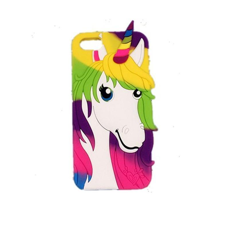 Unicorn iPhone Case - For iPhone X / SE / 5C / 5S / 6 / 6 Plus / 6S / 7 / 8 Plus Phone Cases Loom Rack Unicorn Style - 6 For iPhone 4 4S