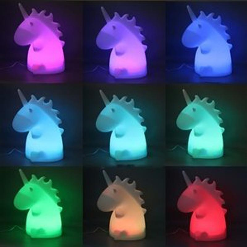 Unicorn Night Light Night Lights Loom Rack