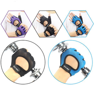 Unisex Mesh Weight Training Gloves Sports Gloves Loom Rack