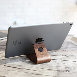 Universal Wood Phone/Tablet Stand Mobile Phone Holders & Stands Loom Rack