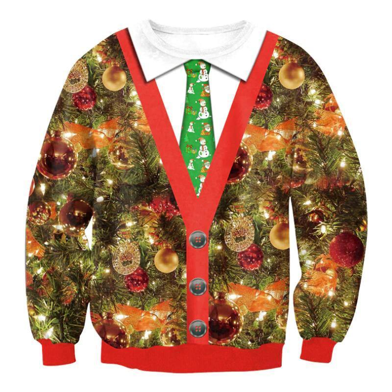 Very Ugly Christmas Sweater - Grandpa Cardigan Christmas Ugly Sweaters Loom Rack Grandpa Cardigan S
