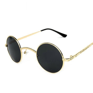 Vintage Ultra-Micro Round Frame Sunglasses Sunglasses Loom Rack
