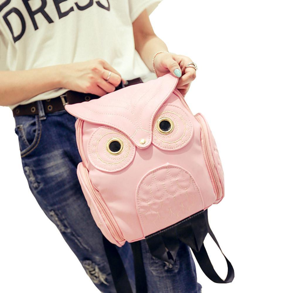 Whimsy Owl Embossed Backpack Backpacks Loom Rack