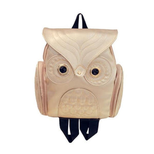 Whimsy Owl Embossed Backpack Backpacks Loom Rack Gold