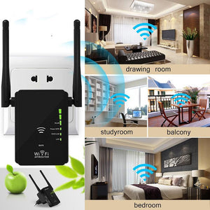WiFi Extender with WPS Internet Signal Booster WiFi Booster EU / original package