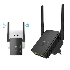 WiFi Extender with WPS Internet Signal Booster WiFi Booster Loom Rack EU