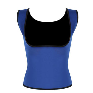 Women's Slimming Fat Burning Body Shaper Fat Burning Loom Rack Blue S
