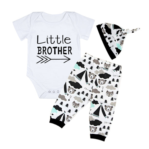 Little Brother 3Pcs Set - Baby Zax