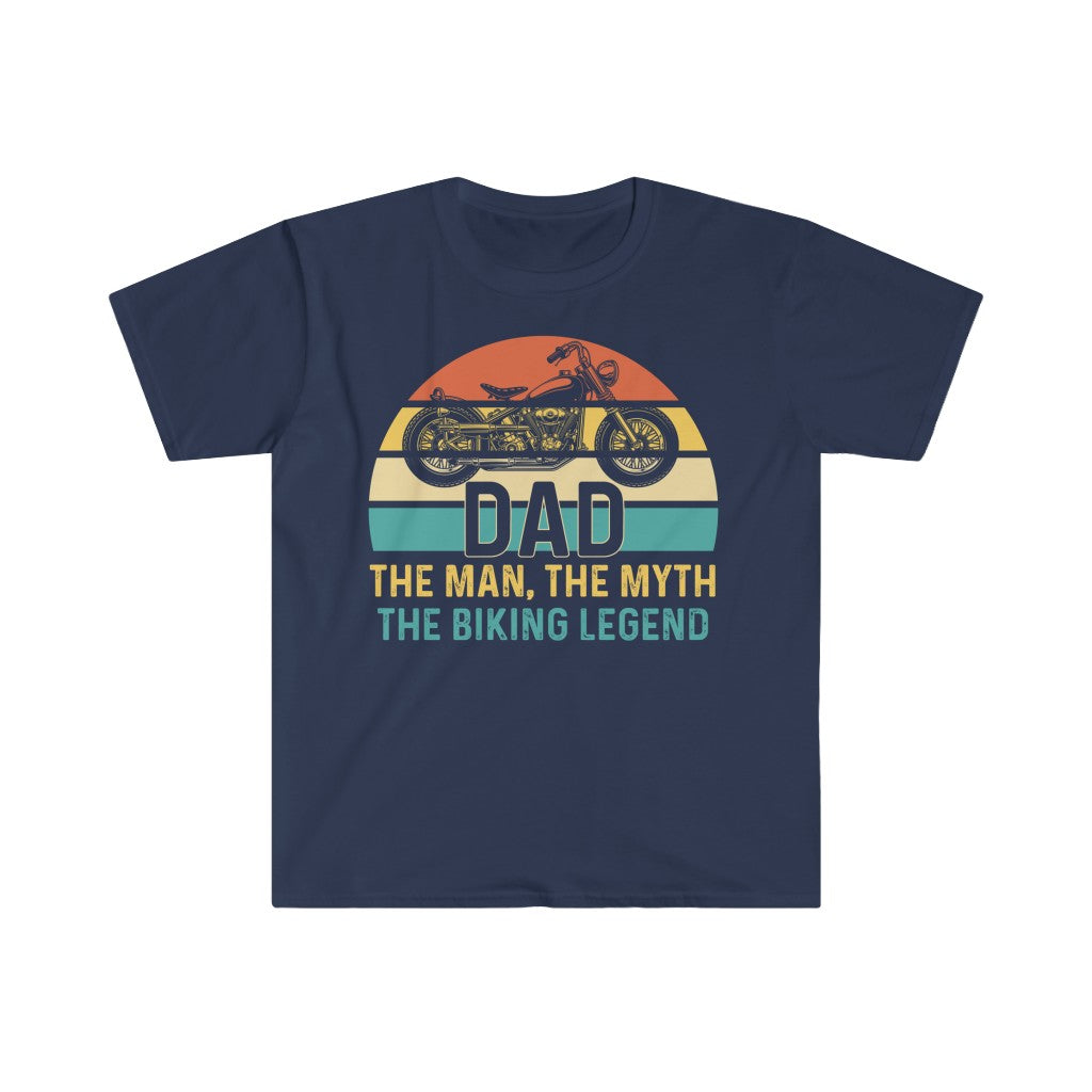 DAD BIKING LEGEND T Shirt - Summer Short Sleeves Top Online