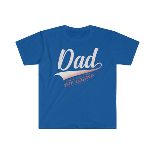 DAD LEGEND Top - Summer Short Sleeves T Shirt - Steelcitylids.com