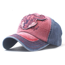 Load image into Gallery viewer, Crazy Bull Print Cap - Men's Baseball Hat Online - Steelcitylids.com