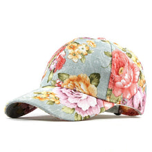 Load image into Gallery viewer, SUMMER FLOWER Hat - Baseball Cool Cap With Adjustable Back