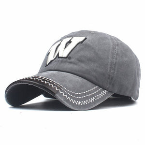 BIG 'W' Hat - Baseball Cap With Adjustable Strap For Men's