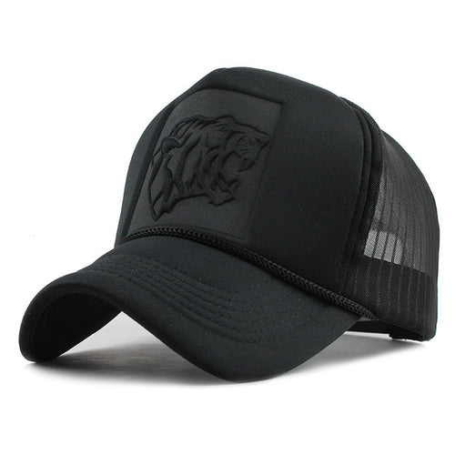 Black Leopard Cap - Adjustable Strap hat For Men's - Steelcitylids.com