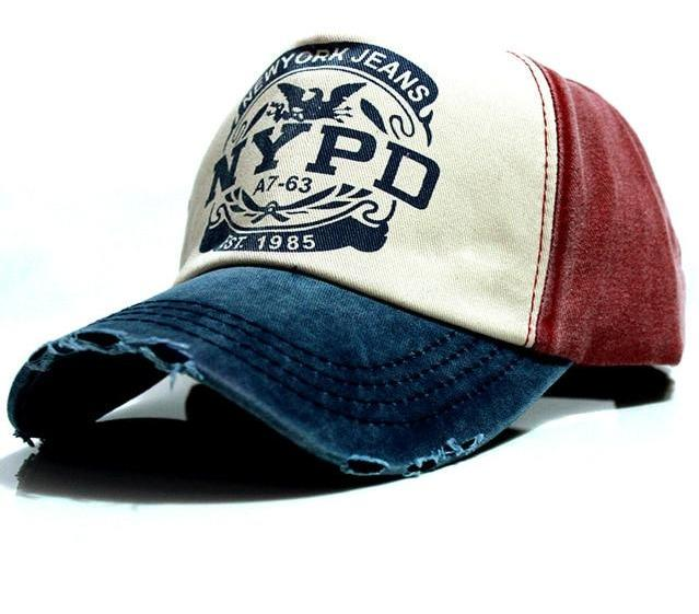 NYPD Baseball Cap - Cool Strapback Hat - Steelcitylids.com