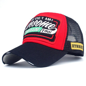 AWESOME Trucker Cap - Adjustable Strap Hat For Men's