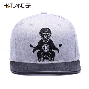 Biker Monkey Print Hat - Men's Baseball Cap Online - Steelcitylids.com