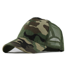 CAMO Trucker Hat - Men's Baseball Cap 2020 - Steelcitylids.com