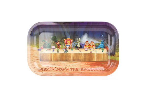 Rolling Tray - Alice Tea Party