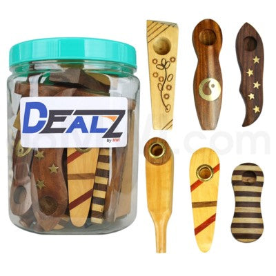 Dealz Wooden Hand Pipe
