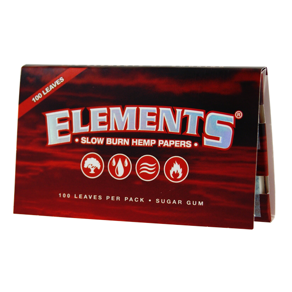 Elements Red Single Wide Double Window