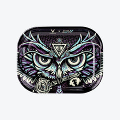 Rolling Tray - Owl First Earth