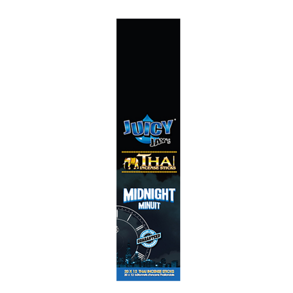 JUICY JAY'S THAI INCENSE MIDNIGHT, PACK/20