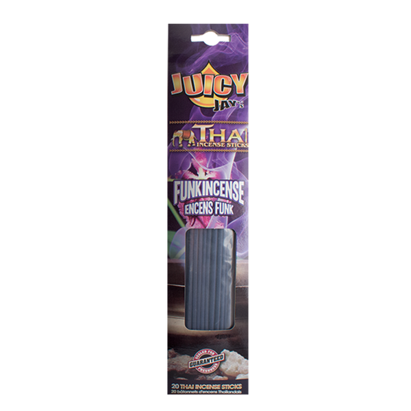 JUICY JAY'S THAI INCENSE FUNKINCENSE PACK/20