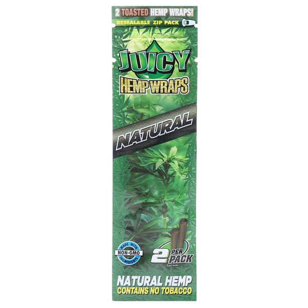 Juicy Hemp Wraps Pouch of 2