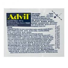 Advil 2 tablet pouch