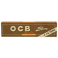 OCB - Slim Virgin King Size with Tips